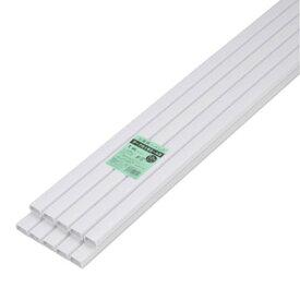 オーム電機 配線モール テープ付き 3号 白 1m 10本 DZ-PMT31-W10P