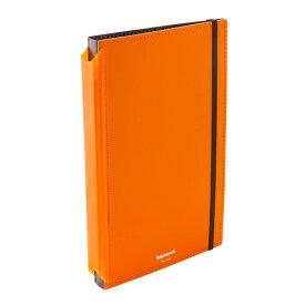クリップボード A4 E型オレンジQB-FA4E-OR 【折りたたみ 用箋挟 アンケート 受付 回覧 立ち仕事 オフィス】