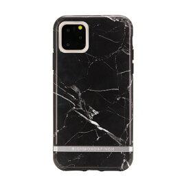 Richmond & Finch リッチモンド&フィンチ iPhone 11 Pro 背面カバー型 FREEDOM CASE マーブル Black Marble ブラックマーブル RF17974i58R
