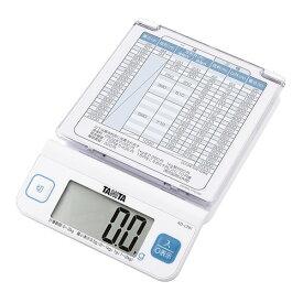 タニタ デジタルレタースケール ホワイト KD-LT01-WH