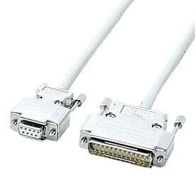 【送料無料】サンワサプライ RS-232Cケーブル 5m KRS-423XF5N