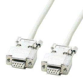 【送料無料】サンワサプライ RS-232Cケーブル 6m KRS-433XF6N