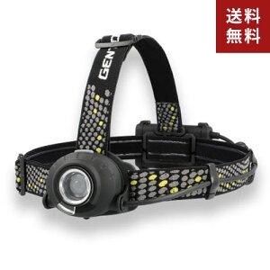 【送料無料】ヘッドライト ジェントス GENTOS HEAD WARSシリーズ ヘッドライト 充電式 led White Box ver. HLP-2102 アウトドア 釣り 登山 作業灯☆★