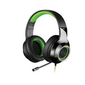 【送料無料】【日本正規代理店品】Edifier ゲーミングヘッドセット V4 グリーン ED-V4GR