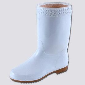 【送料無料】弘進ゴム 防寒ゾナ長靴(耐油性・ボア裏)白 26cm SNG18260