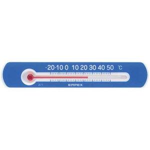 エンペックス EMPEX 温度計 マグネットサーモミニ ブルー 横型 TG-2526