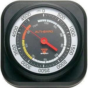エンペックス EMPEX 気圧計 高度計 アルティ・マックス 4500 ブラック FG-5102