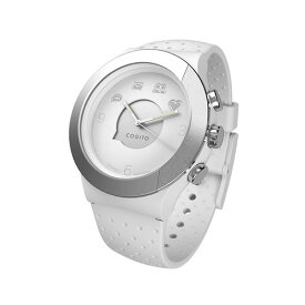 07be210344 【送料無料】CONNECTEDEVICE Bluetooth SMART対応アナログ腕時計 COGITO FIT WHITE SILVER CW3.