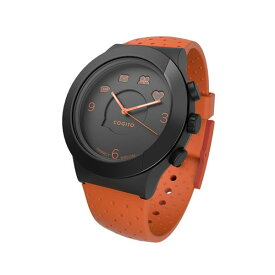41bb9183b1 【送料無料】CONNECTEDEVICE Bluetooth SMART対応アナログ腕時計 COGITO FIT ORANGE BLACK CW3.