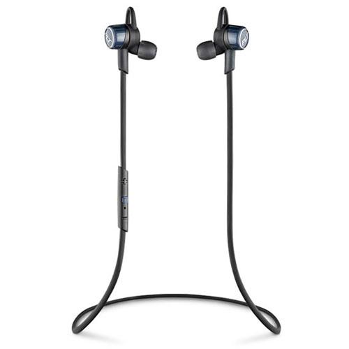 【送料無料】Plantronics Bluetooth ステレオヘッドセット BackBeat GO 3 コバルトブラック 充電ケース付 BACKBEATGO3-CB-C【smtb-u】