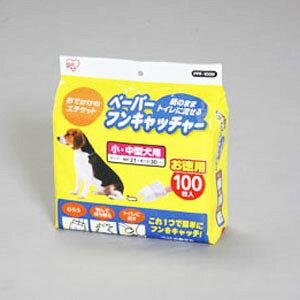アイリスオーヤマ ペーパーフンキャッチャー Mサイズ 100枚入り PPF-100M