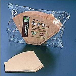ケナフコーヒーフィルター(100枚入)4〜6人用FKC953