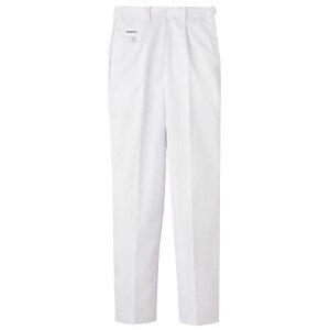 パンツ 後ゴム 女性用 ホワイト 白 M FH-1111 SPV2803 【サーヴォ サンペックスイスト 業務用 ユニフォーム スラックス ズボン 制服】