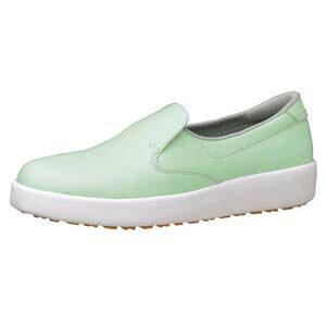 【送料無料】ミドリ安全 ハイグリップ作業靴 H-700N 24.5cm グリーン SKT4329