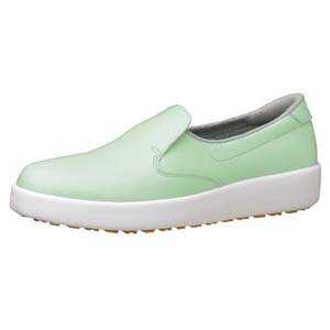 【送料無料】ミドリ安全 ハイグリップ作業靴 H-700N 27cm グリーン SKT4354