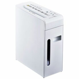 【送料無料】オーム電機 マルチシュレッダー CD/カード細断対応 SHR-MX501C-W