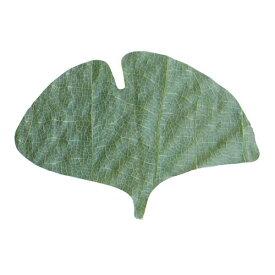 ヤマコー プチ干朴葉懐敷(緑)50枚入 23922 銀杏型 QHO1103