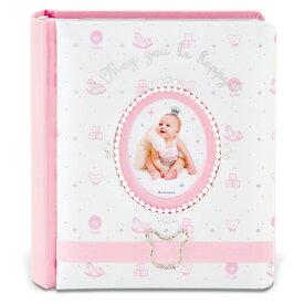 【ラッピング対象】キシマ kishima ラソワ ベビーアルバム Pink KP-31158
