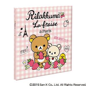 ナカバヤシ リラックマ フエルアルバムDigio ビス式 Lサイズ プラコート台紙 リラックマ B柄 ア-LP-133-2