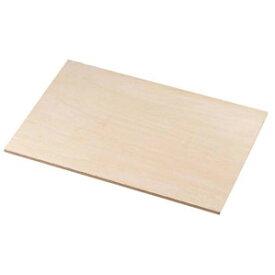 EBM 木製 ケーキめん台 小 450×300 2585000