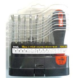 三共コーポレーション TRAD 15PC ドライバーセット TDS−15