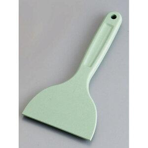 【送料無料】MPF カラーシリコンスクレイパー 小 短柄 緑 MP-SS-H WSK8304