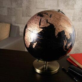 【送料無料】ナカバヤシ 光る地球型オブジェ ライティングアース 30cm ゴールド LE-30GL