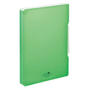 LIHIT LAB リヒトラブ AQUA DROPs ファイルケース A4 黄緑 A-5029-6