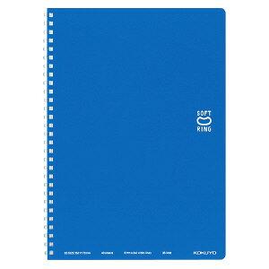 コクヨ ソフトリングノート ドット入り罫線 B5 ブルー ス-SV301BT-B