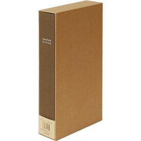 ナカバヤシ 折りたたみポケットアルバム 布紙 L判 3段x2列ポケット台紙 ブラウン ア-TPL-241-BR