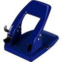 カール事務器 2穴パンチ ブルー SD-85-B