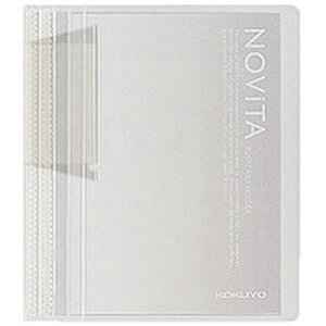 コクヨ ポストカードホルダー ノビータ 60枚 透明 ハセ-N60T