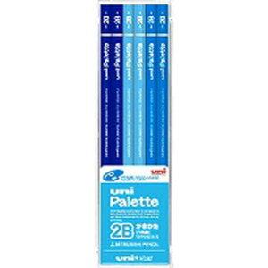 三菱鉛筆 鉛筆 ユニスター 2B パステルブルー US1044