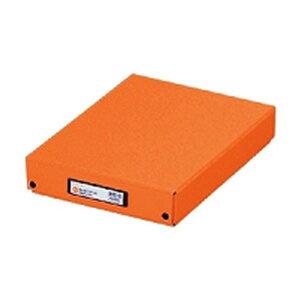 LIHIT LAB リヒトラブ デスクトレー A4 橙 G8300-4