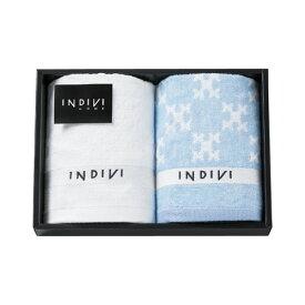 インディヴィ ウォッシュタオル 2枚セット INCT-100