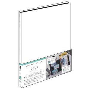 ナカバヤシ ポケットアルバム ログプラス ビス式 A4サイズ 100年台紙 ホワイト A-LPA4H-W