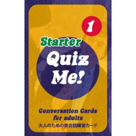 Paul's English Games Quiz Me! Conversation Cards for Adults - Starter, Pack 1 (Latest Edition) AGS1.1