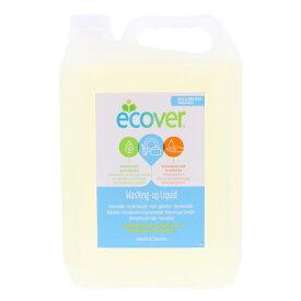 【送料無料】ECOVER エコベール 食器用洗剤 カモミール 5L