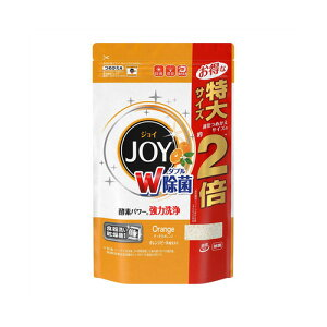 P&G ジョイ 食洗機用洗剤 オレンジピール成分入 つめかえ用 特大 930g