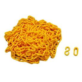 ハイロジック PCチェーン 黄色 #6×6mSJ付 PC66SJ