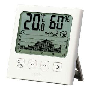 【送料無料】TANITA タニタ グラフ付デジタル温湿度計 TT581WH BGL2901