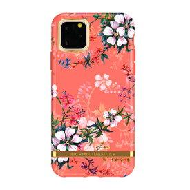 【送料無料】Richmond & Finch iPhone 11 Pro 背面カバー型 FREEDOM CASE フローラル Coral Dreams コーラルドリームス RF17980i58R