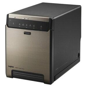 【送料無料】ロジテック Logitec USB3.1(Gen2)対応 4bay HDDケース ガチャベイシリーズ 2.5インチ 用 ブラック LGB-4BNHUC