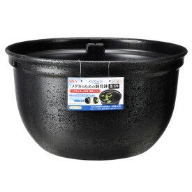 ジェックス GEX メダカ元気 メダカのための飼育鉢 黒370