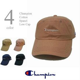 チャンピオン 帽子 キャップ メンズ レディス コットンツイル ローキャップ 男女兼用 6パネルキャップ フリーサイズ ウォッシャブル ベースボールキャップ 定番 日本正規代理店商品 CHAMPION 送料無料 型崩れしない箱入れ発送です。381-0047