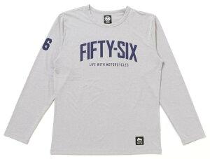 56design 56デザイン XYLITOL COOL&DRY FIFTY-SIX LONG T-SHIRT KF [キシリトール クール&ドライ フィフティーシックス ロングTシャツ] サイズ:M