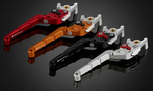 BIKERS バイカーズ Folding Adjustable Front Brake Lever (Curved Surface) グロム