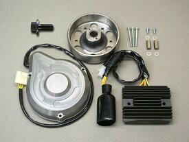 METAL GEAR WORKS メタルギアワークス 強化ジェネレーターキット カラー:シルバー CB900 F 全年式 (SC09) CB900 F 全年式 (SC01) CB750 F 全年式 (RC04) CB1100 R 全年式 (SC08) CB1100 R 全年式 (SC05) CB1100 F 全年式 (SC11)