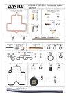 KEYSTER キースター その他キャブレター関連 FCR 35Φ ホリゾンタルキャブレター用燃調キット CB750F