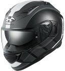 OGKKABUTOオージーケーカブトKAMUI3JM[カムイ・3ジェーエムフラットブラックホワイト]ヘルメットサイズ:XSサイズ(53-54cm)